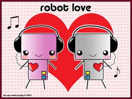 Robot Love by adrybsk