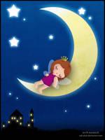 Little Moon Fairy by adrybsk