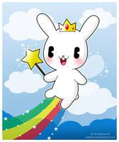 Bunny Fairy by adrybsk