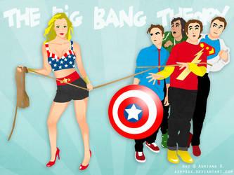 The Big Bang Theory by adrybsk