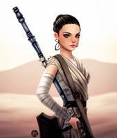 Rey by adrybsk