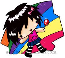 Rainbow Pop by adrybsk