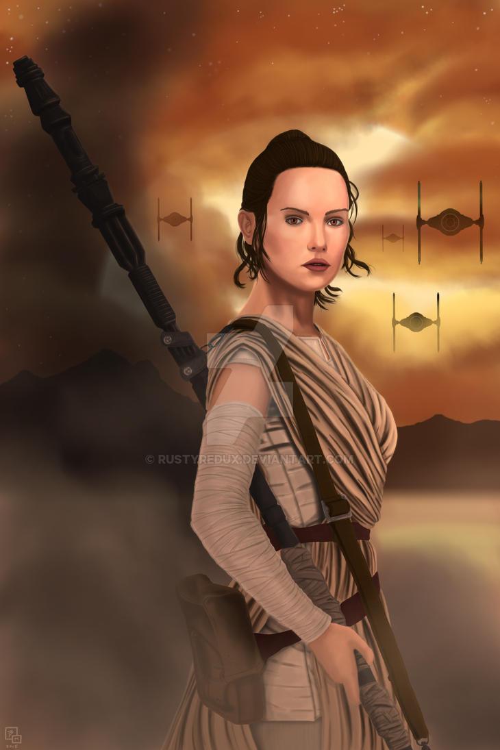 Rey (2015) by RustyRedux
