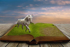 Book With Unicorn