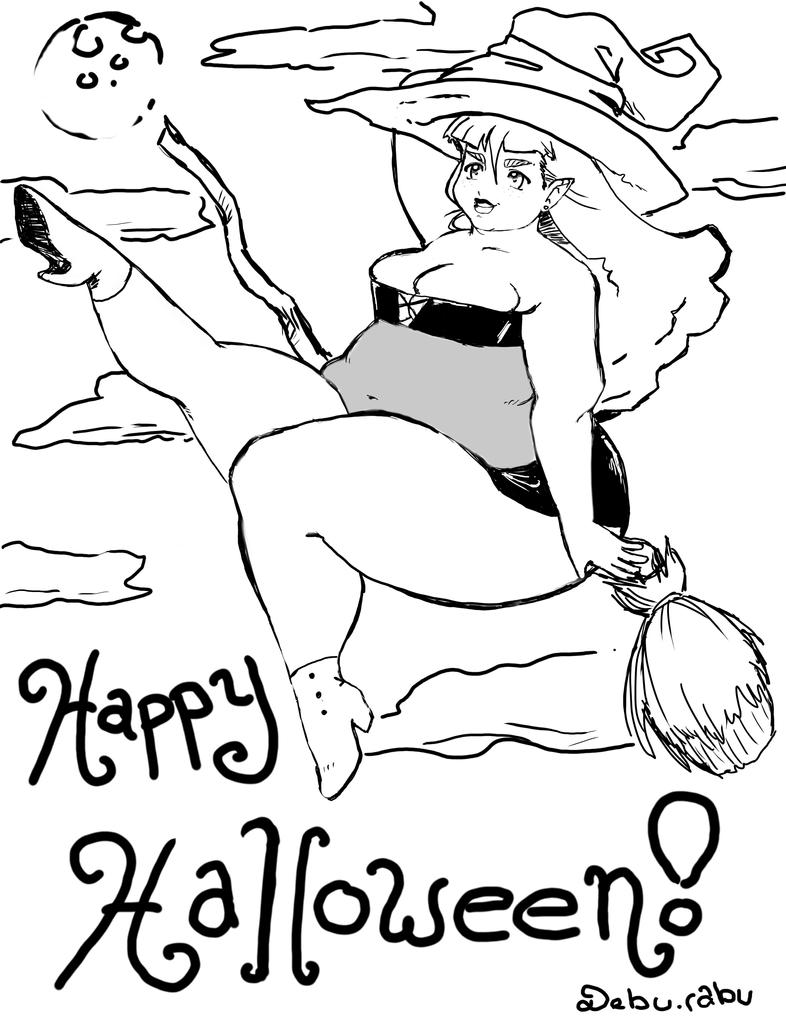 Difficult Halloween Coloring Pages