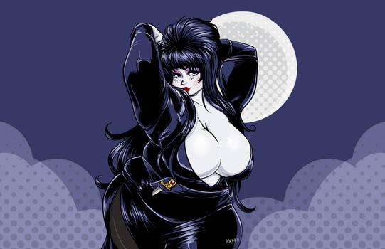 Elvira - Happy (Late) Halloween!