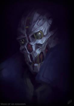 Mask of an assassin
