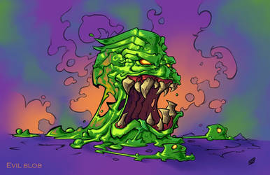 Evil blob