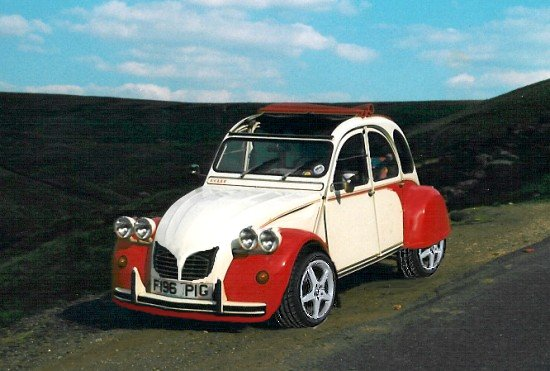 citroen 2cv turbo