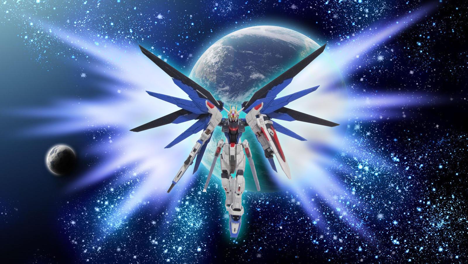 The gallery for --> Strike Freedom Gundam Wallpaper