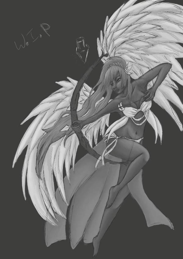 warrior angel by Joykins