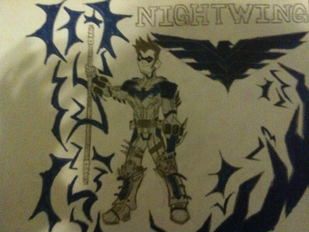 Nightwing by thedestoryerofworlds