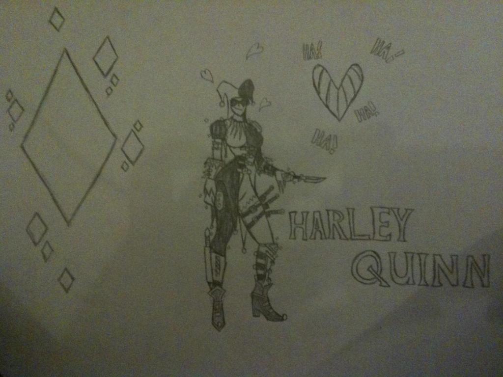 Harley Quinn by thedestoryerofworlds