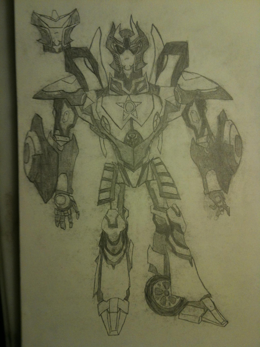 TFP Prowl by thedestoryerofworlds