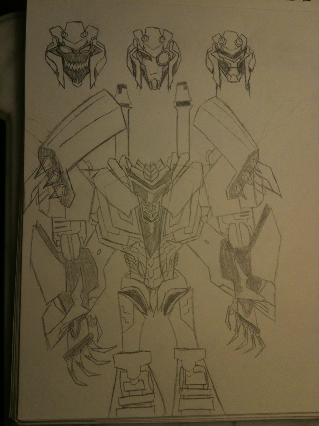 TFP Blitzwing by thedestoryerofworlds