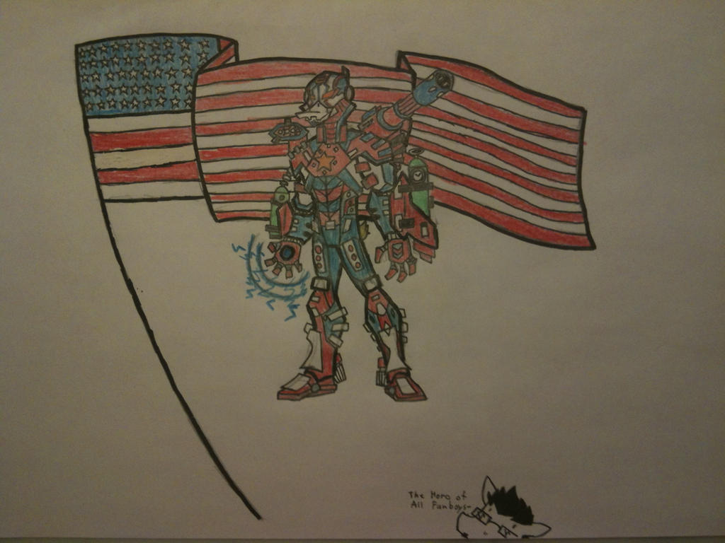 Iron Grey of Patriot (B-day gift) by thedestoryerofworlds