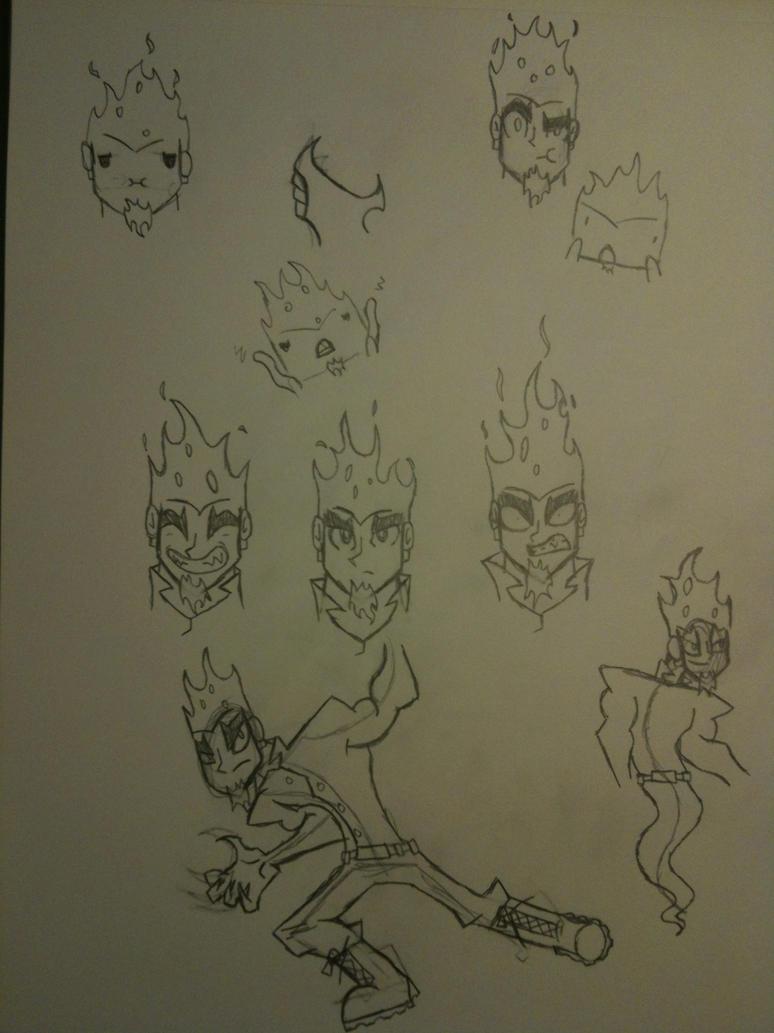 Burner sketches by thedestoryerofworlds