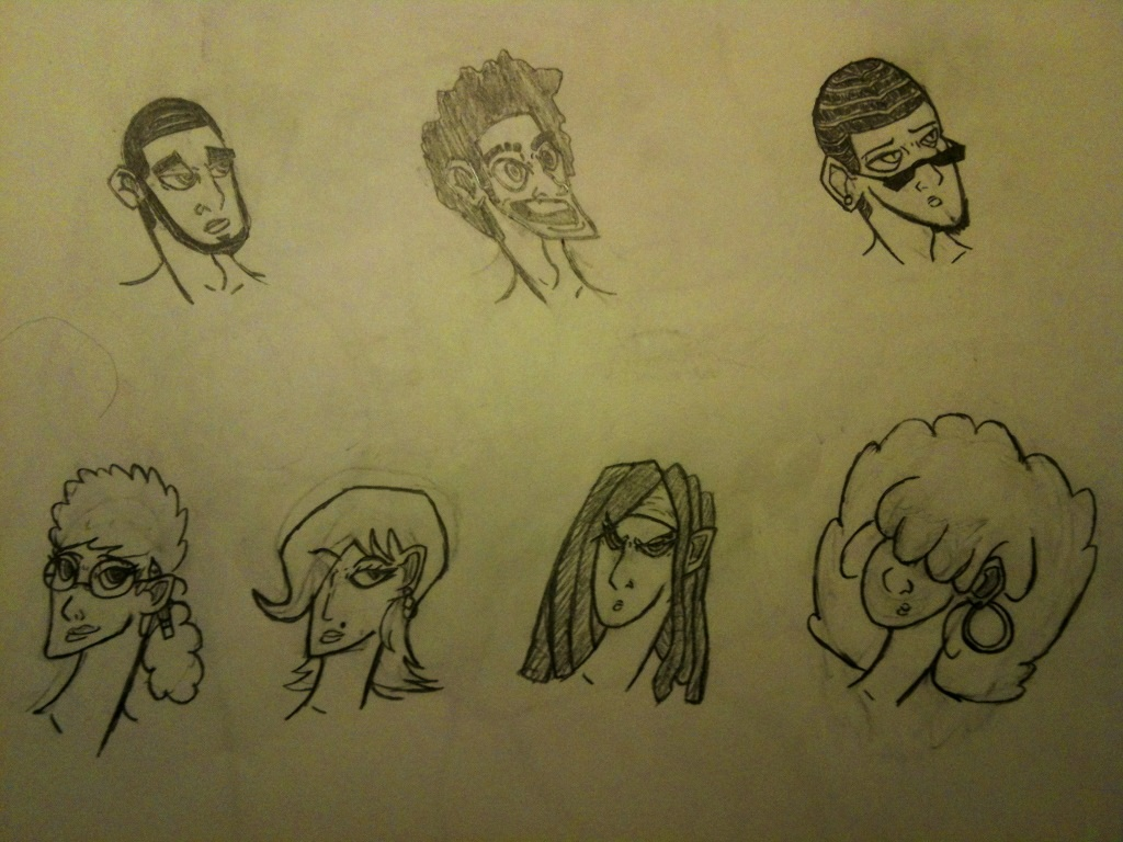 Head Designs 3 by thedestoryerofworlds