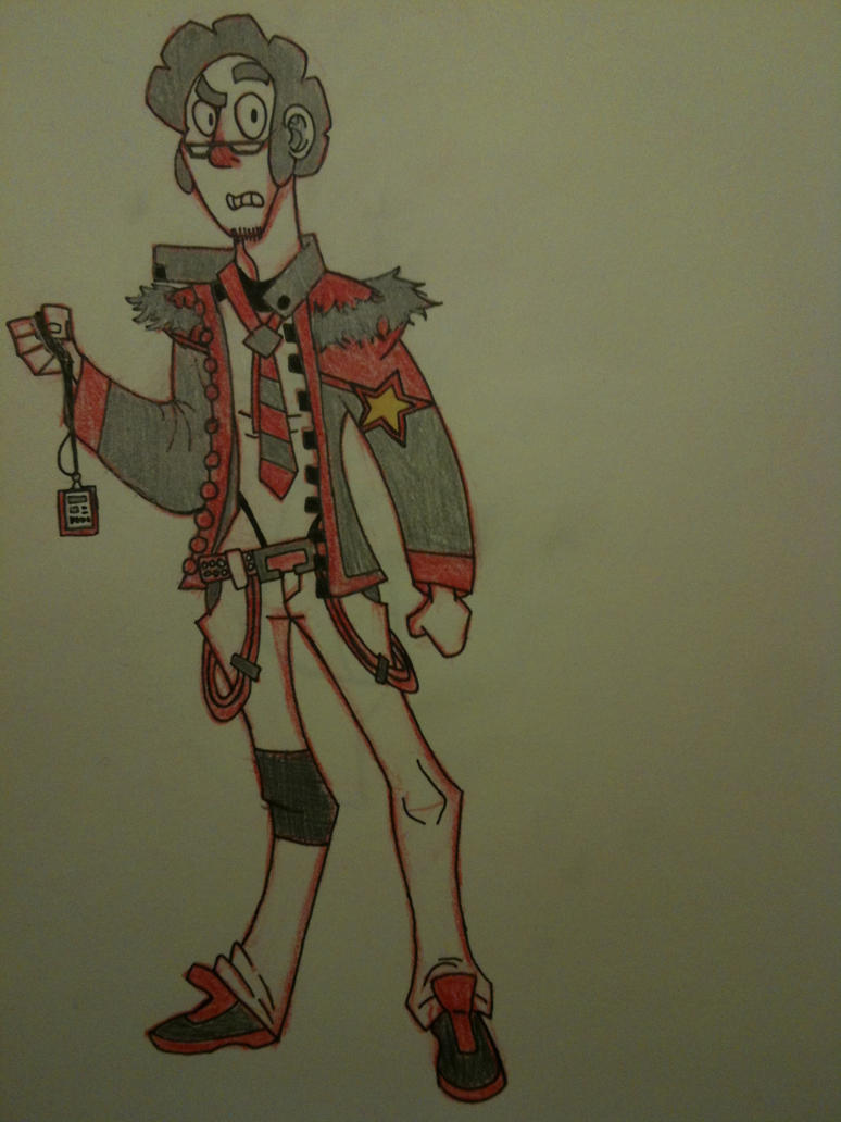 My Character Design by thedestoryerofworlds