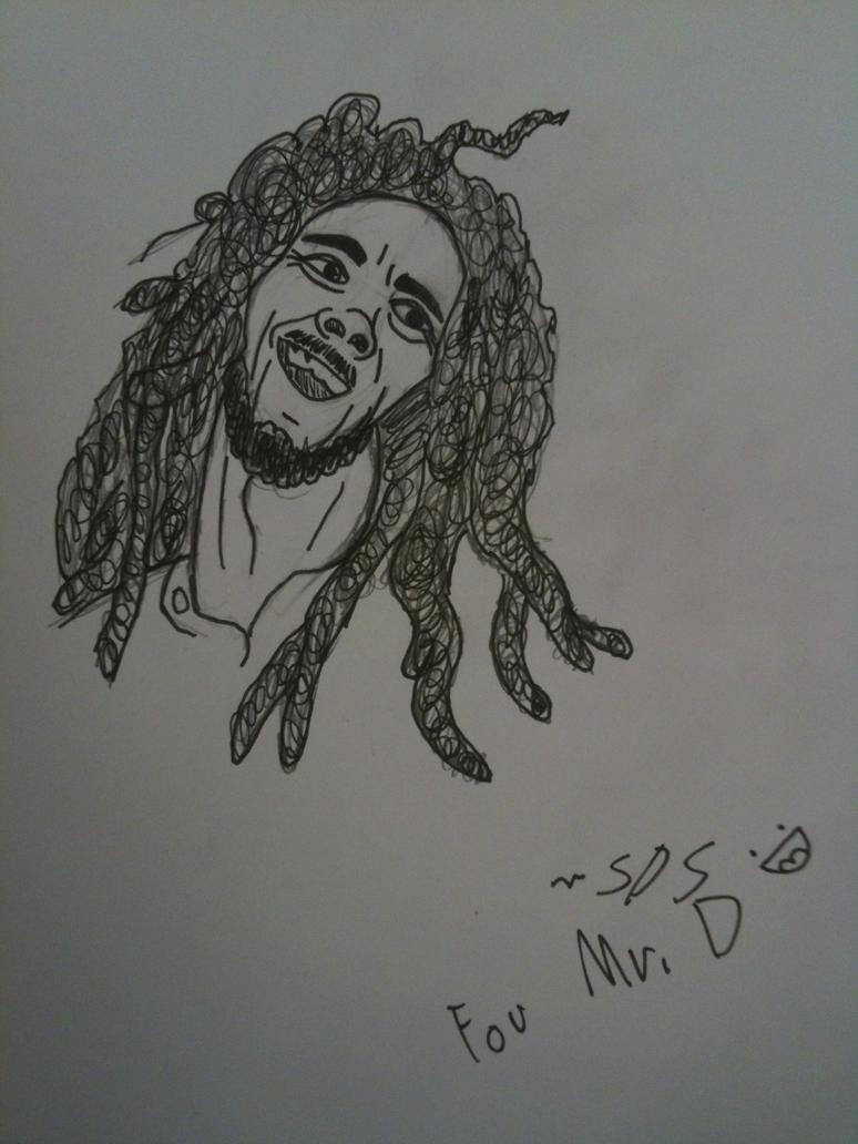 Bob Marley by thedestoryerofworlds