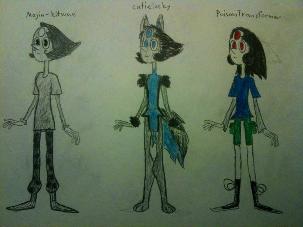 Surprise redesigns 2 by thedestoryerofworlds