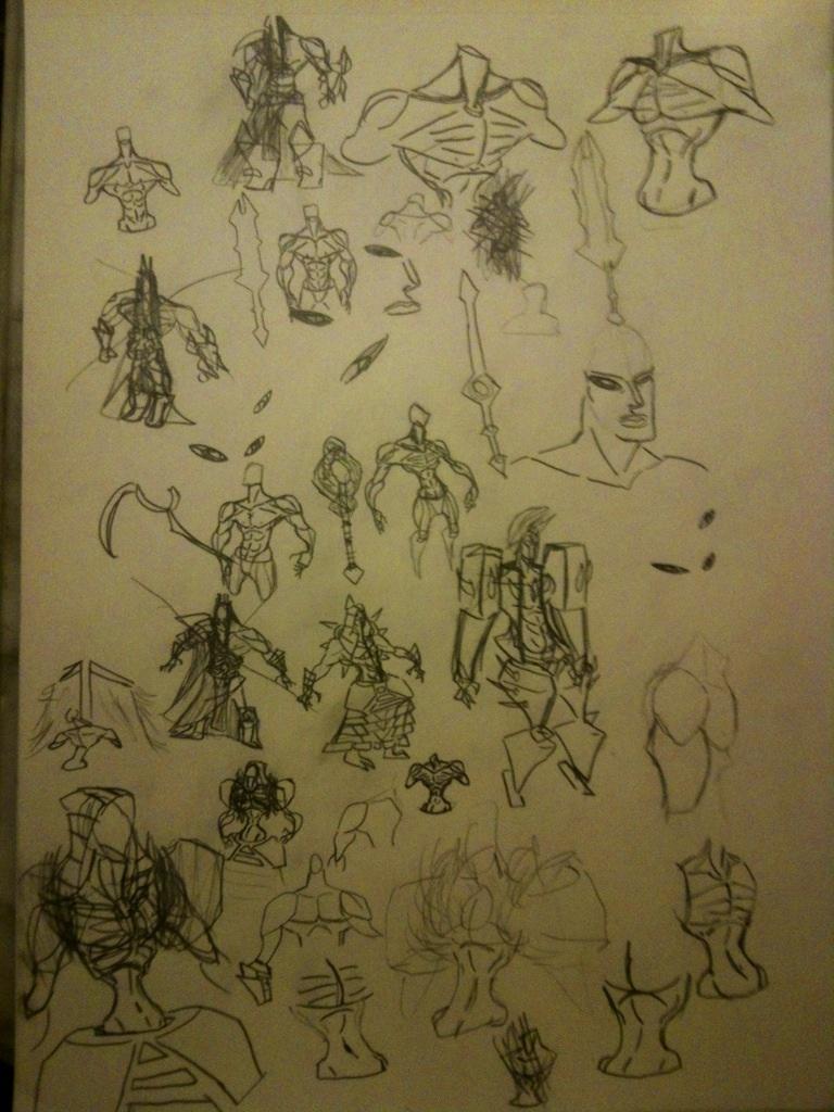 Sketchbook #2 by thedestoryerofworlds