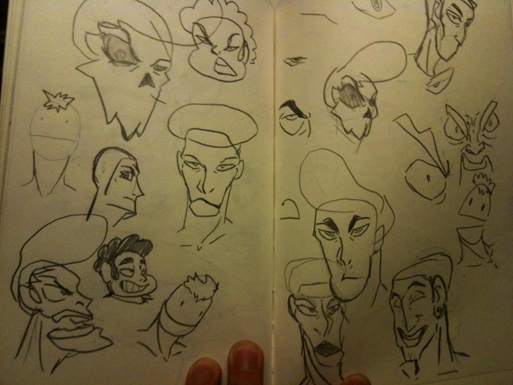 Sketchbook #7 by thedestoryerofworlds