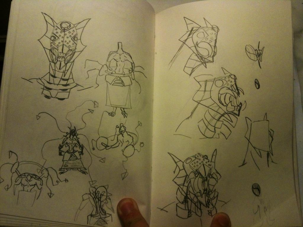 Sketchbook #15 by thedestoryerofworlds