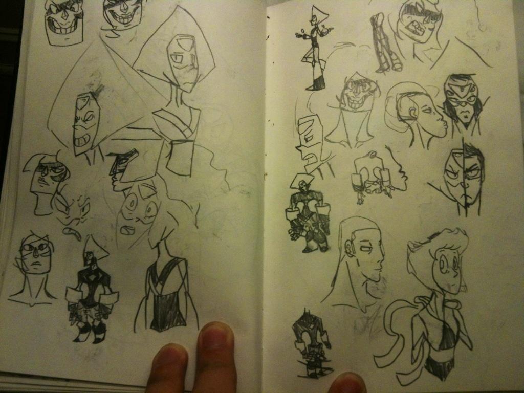Sketchbook #20 by thedestoryerofworlds