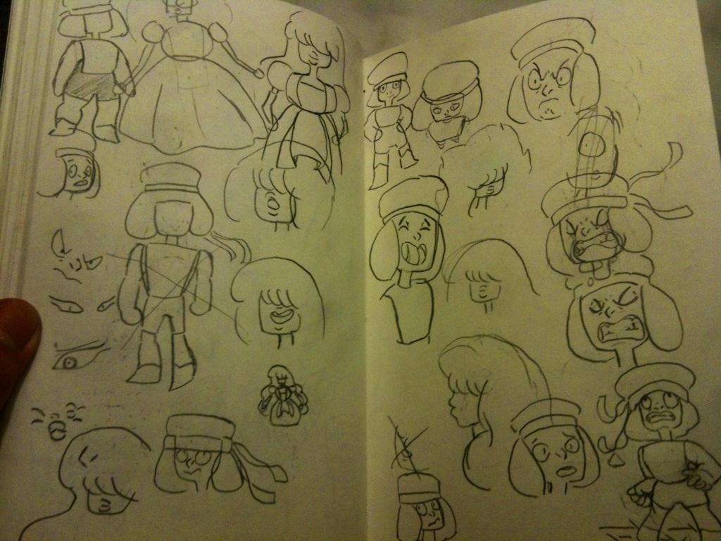 Sketchbook #23 by thedestoryerofworlds