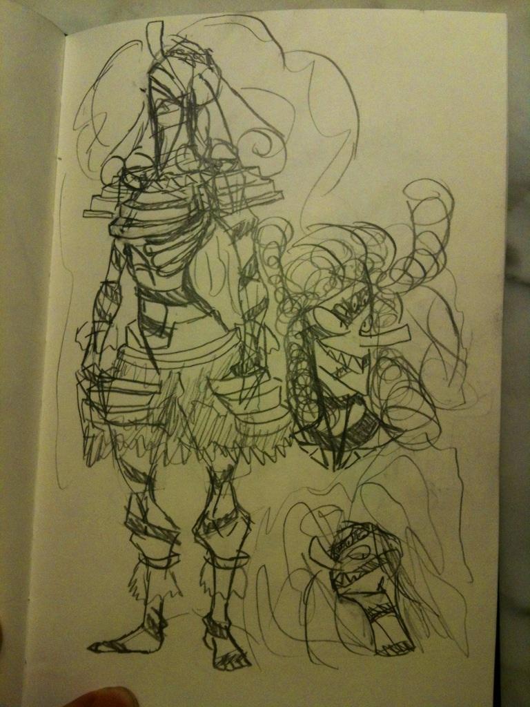 Sketchbook #26 by thedestoryerofworlds