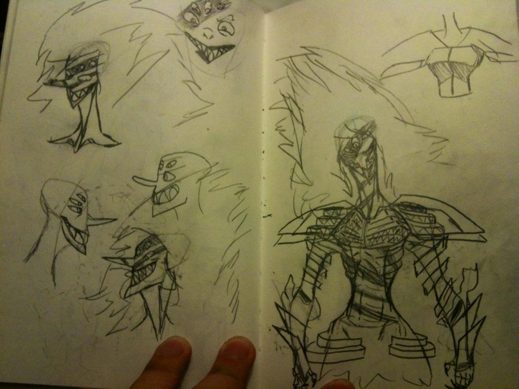Sketchbook #27 by thedestoryerofworlds