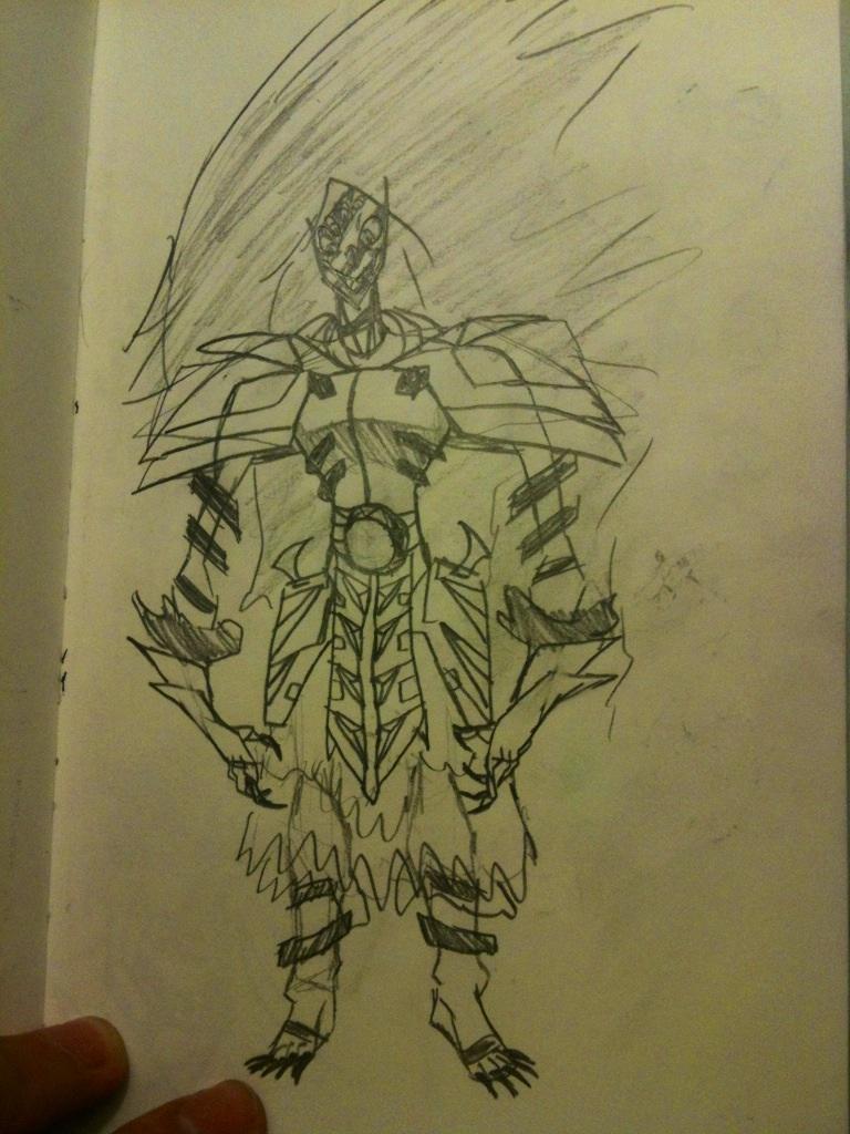 Sketchbook #28 by thedestoryerofworlds