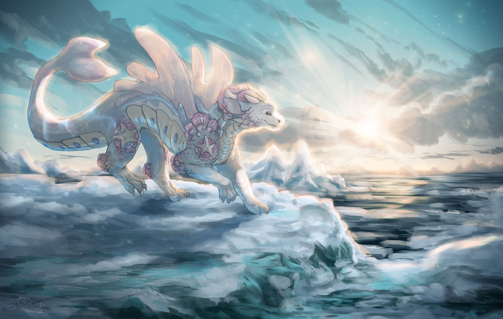 Queen of the Arctic by TheSparrowKiraThing