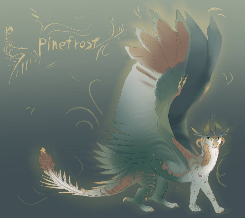 Pinefrost - design contest entry by TheSparrowKiraThing