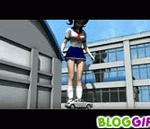 big school girl crush car gif by kilaa0007