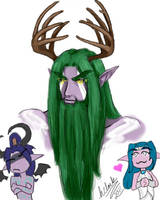 Malfurion and company by hclark
