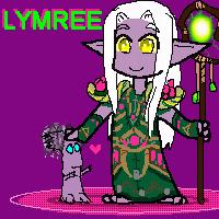 Oekaki - chibi Lymree by hclark