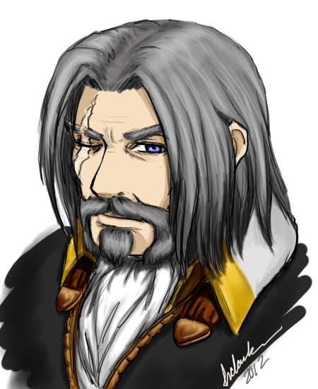 Genn Greymane by hclark on DeviantArt - 250.0KB