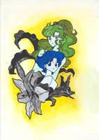 Ami and Makoto by Silver-Nightfox