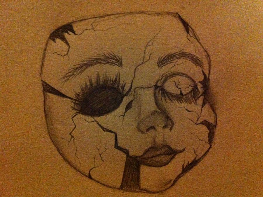 Broken Doll Face By ErinChan01 On DeviantArt