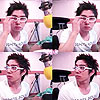 kangin with glasses by hacchan-i