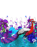 Red peafowl by RougeSulfura