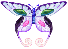 Pearly AC Butterfly by RougeSulfura