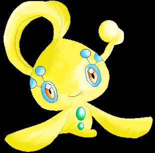 Yellow Manaphy by RougeSulfura