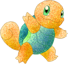 Orange Blue Berry Mintherb Squirtle by RougeSulfura