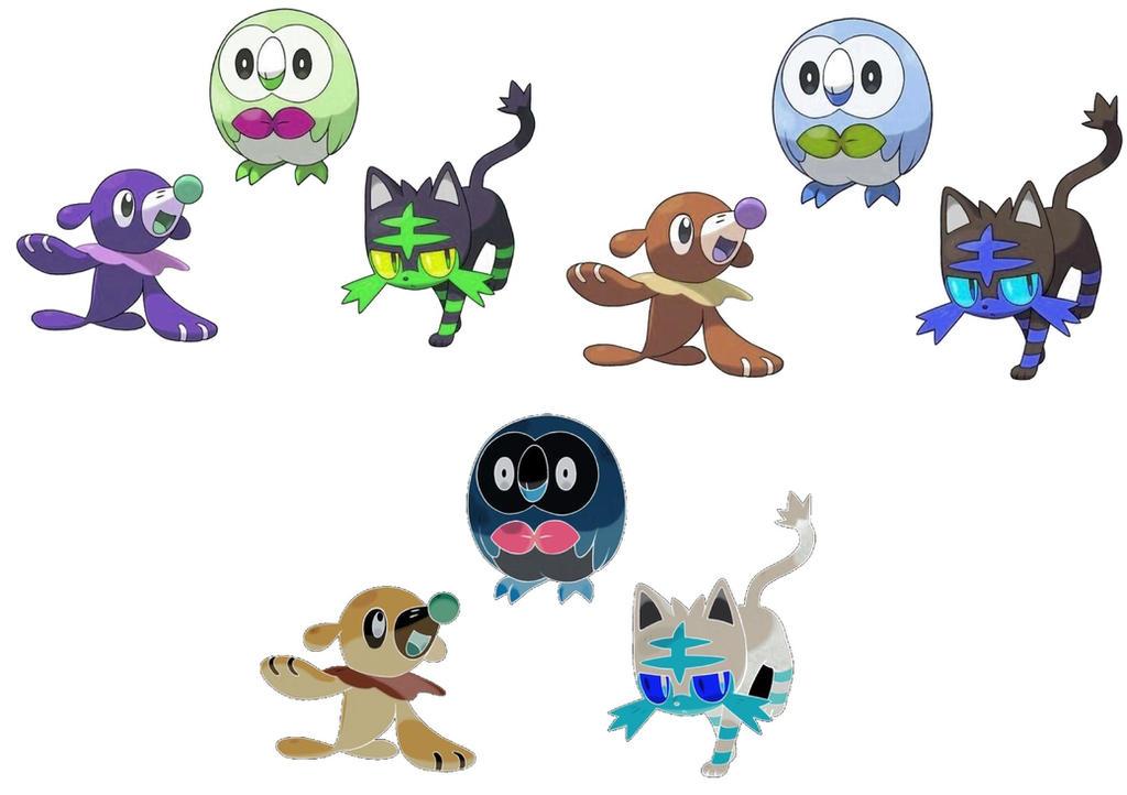 Shiny Starter Pokemon Images | Pokemon Images