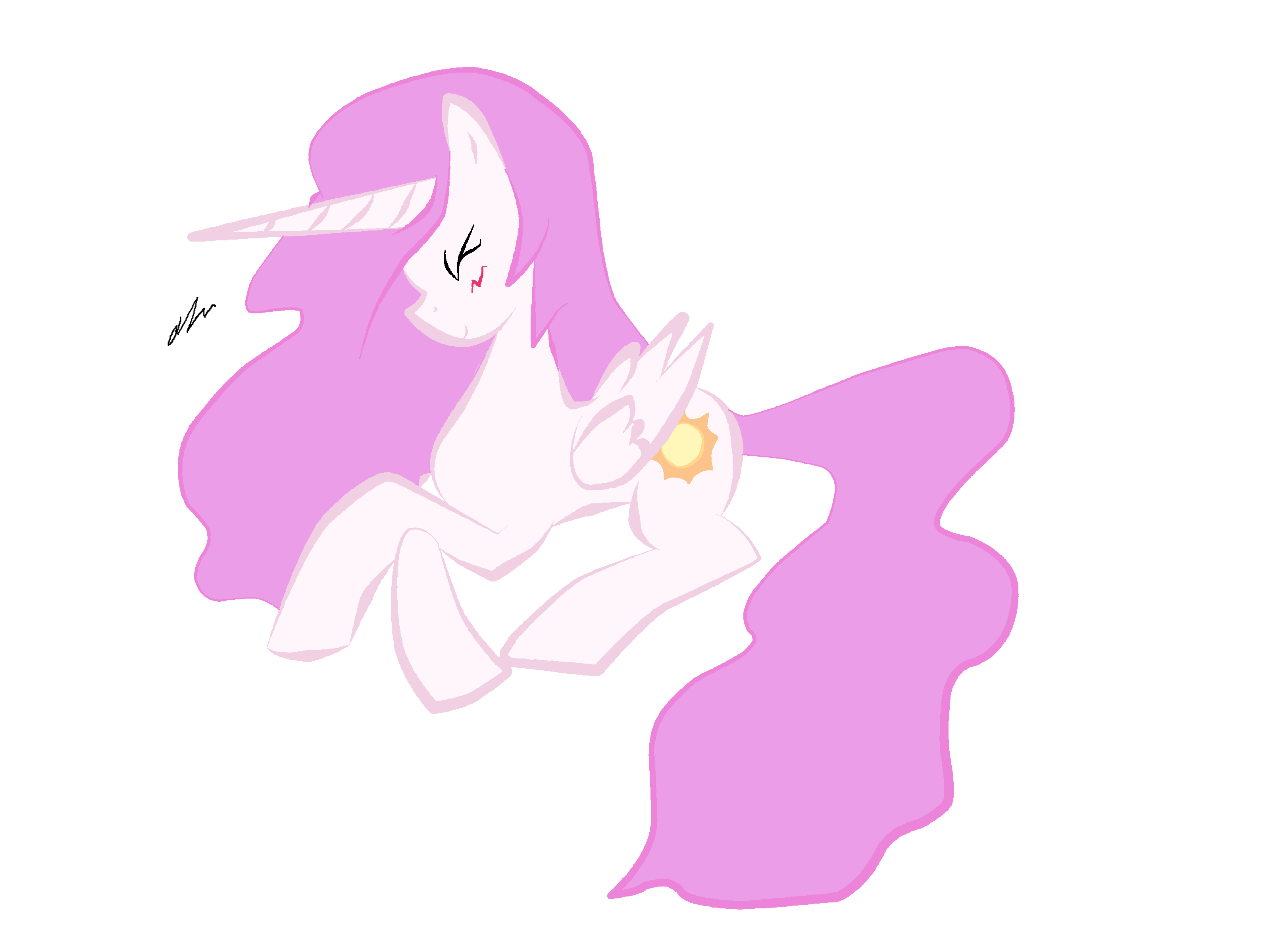 Filly Celestia