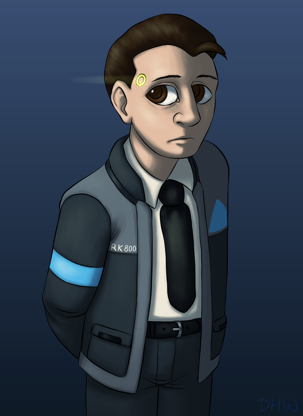 Connor by DragonHeartWolf