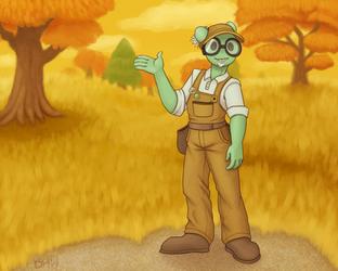 Paradox Green by DragonHeartWolf